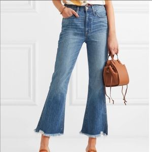 NWT Madewell Rigid Denim Distressed Flare Jeans
